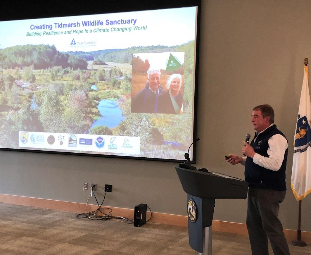 Bob W presenting at Mass ECAN 12-2017