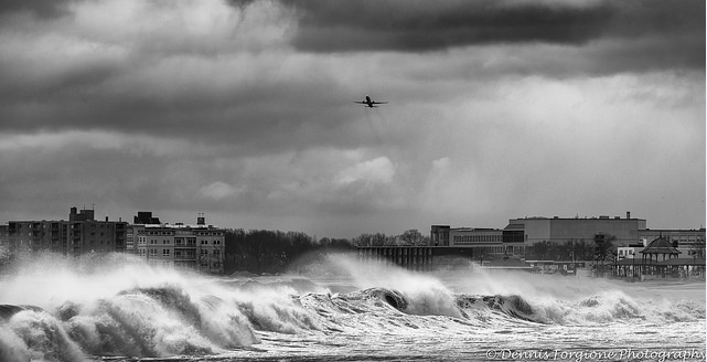 Storm surge Revere MA 3-2018